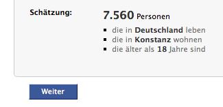 Konstanz hat 7.560 Facebook-Nutzer